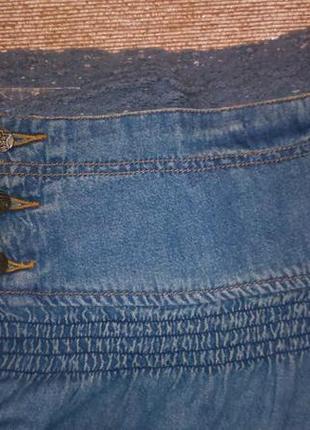 Джинсовая мини-юбка castro