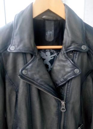 Байкерская куртка-косуха gipsy,натуральная кожа