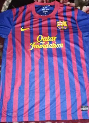 Футболка nike fc barcelona, messi