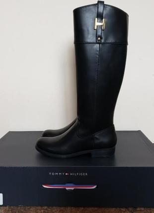 Сапоги tommy hilfiger.ботинки кожаные. осенние натуральная кожа.