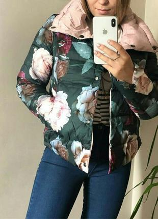 Двохсторонні курточки в цвети