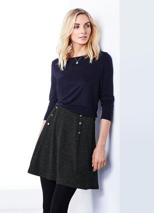 Стильная джерси юбка с заклепками от tchibo(германия)