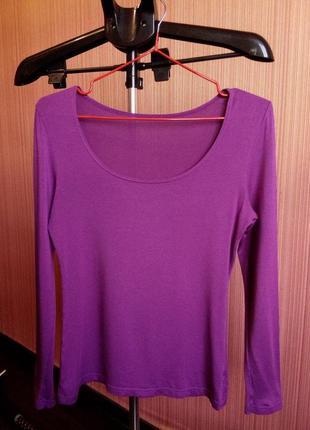 Кофточка фиолетового цвета р-р 42-44