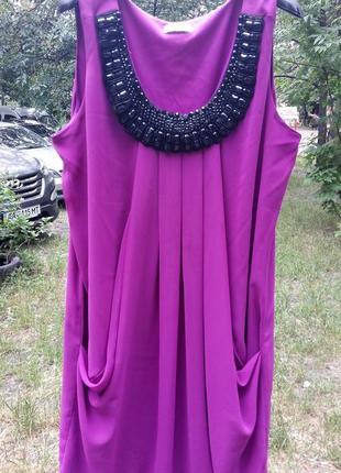 Скидки до -70%, до 10.10. стильное летнее платье, бренд yessica, ожерелье, р. l/xl/xxl