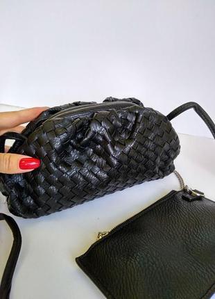 Женская плетенная сумочка скидка