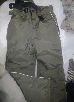 Лыжные штаны  детские р 140