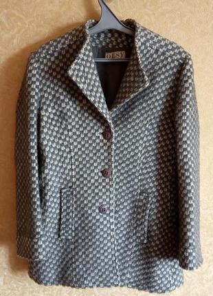 Крутое драповое пальто/распродажа
