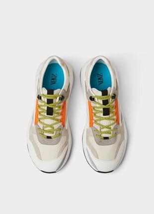 Мужские кроссовки zara в наличии, оригинал, испания