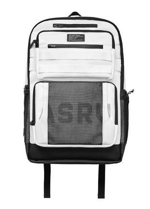 Asrv | molle 2-in-1 backpack crossbody - white | походный рюкзак