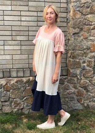 Платье для французского лета