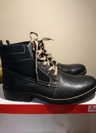 Ботинки rieker 43р в коробке,зима
