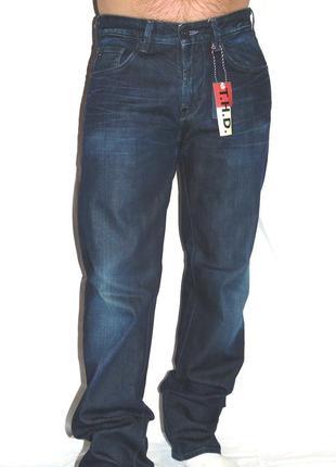 Tommy hilfiger шикарные синие джинсы - m - l - xl