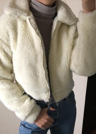 Новая куртка под овчину