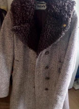 Зимнее пальто на теплом подкладе 44-46р