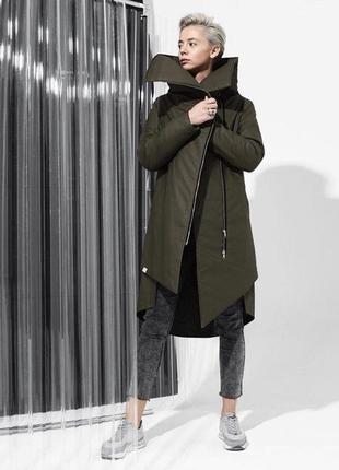 Стильная куртка-пальто