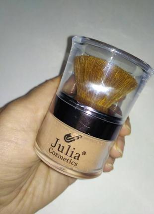 Минеральная рассыпчатая пудра julia