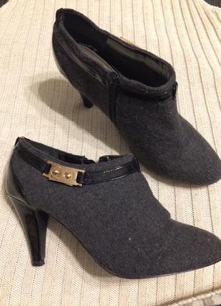 Lotus войлоковые ботильоны ботинки