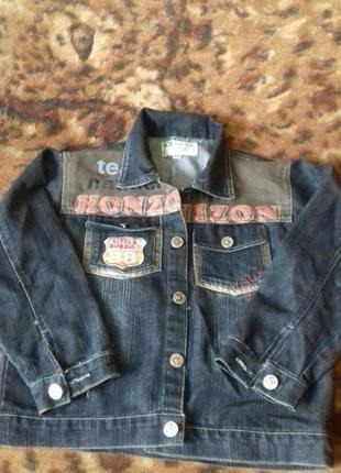 Курточка джинсовая.7-10лет