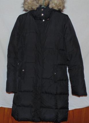 Пальто натуральный пуховик перо пух michael kors оригинал