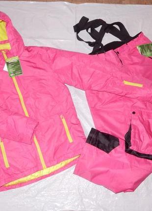 164-170-176, новый лыжный термо костюм crane