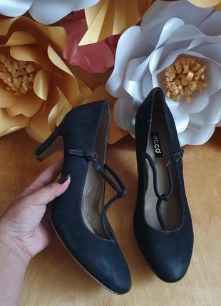 Туфли кожаные ессо