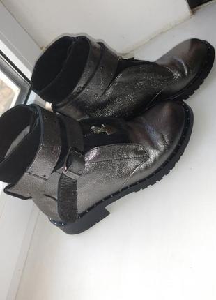Срочная продажа 🔥 новые кожаные сапоги. натуральная кожа и замша. сапожки зимнее