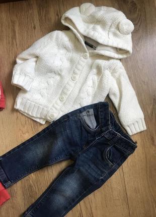 Костюм джинсы кофта 9-12