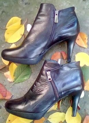 Particia miller 40 ботильоны туфли ботинки кожаные испания