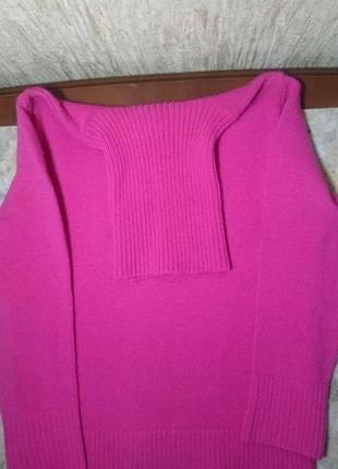 Свитер тёплый розового цвета zara