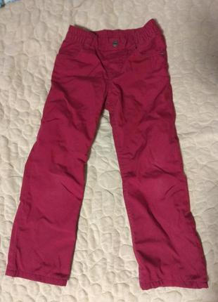 Демисезонные брюки на рост 110см