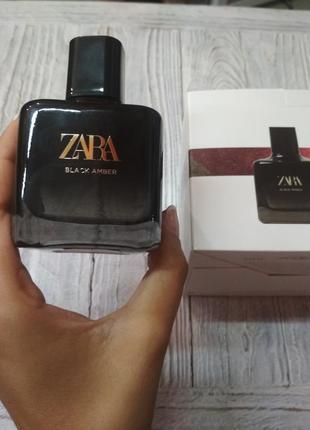 Жіночі парфуми zara black amber 100ml