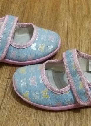 Тапочки сандалии туфли чешки пинетки в сад
