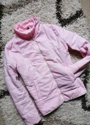 Куртка анорак нежно розовая лиловая