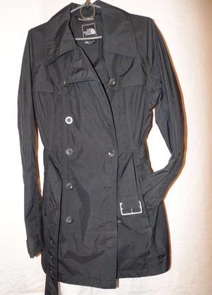 Тренч пальто плащ куртка the north face оригинал новая черная