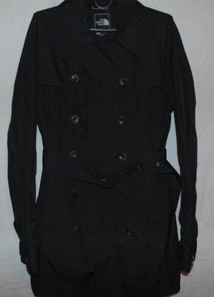 Тренч пальто плащ куртка the north face оригинал новая цвет черный
