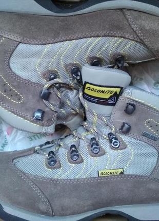 Непромокаемые зимние ботинки dolomite с мембраной gore tex p. 37 - 36.5
