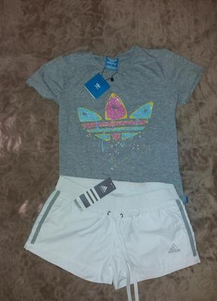 """Футболка и шорты """"adidas"""""""