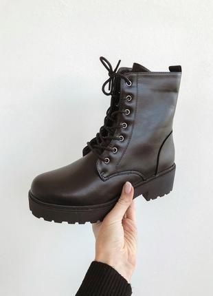Идеальные! ботинки на шнуровке