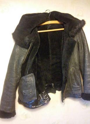 Зимняя куртка ( натуральный мех)