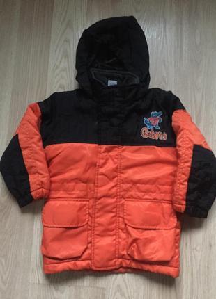 Куртка утеплённая на мальчика