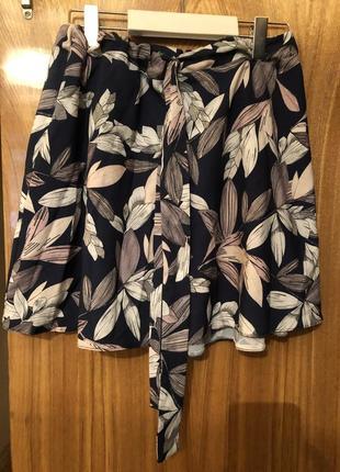 Летняя юбка, летняя короткая юбка, лёгкая летняя юбка