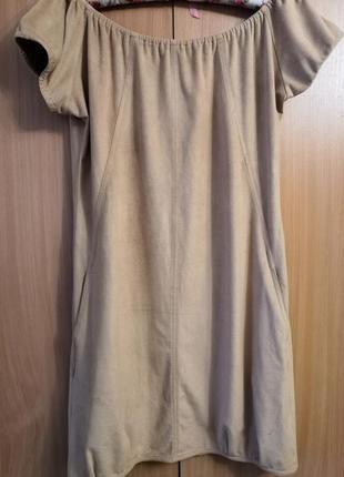 Брендовые платьеце fenny rose с карманами , размер м