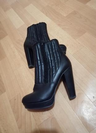 Зимние ботинки, р 39