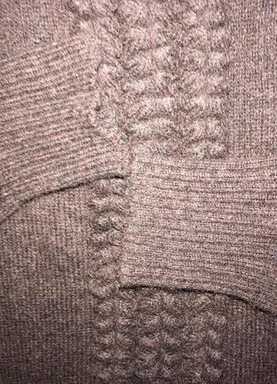 Дания мягусенькая  интерсная шерстяная кофта кардиган culture оригинал