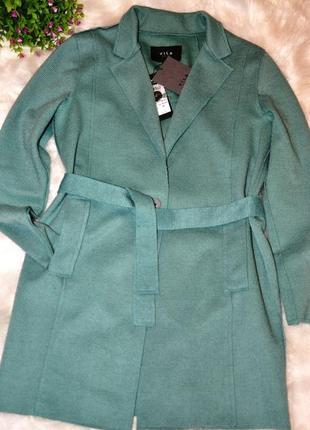 Невероятно крутой и актуальный, очень теплый кардиган / пальто /тренч