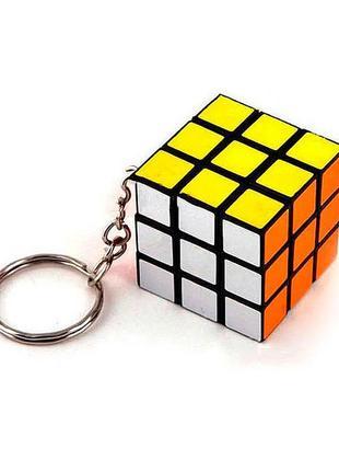 Брелок «кубик рубика» 3x3