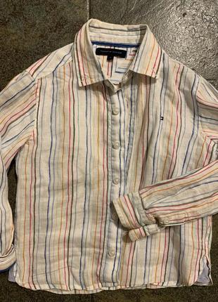 Стильная рубашка рост 104