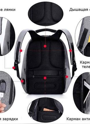 Рюкзак антивор.