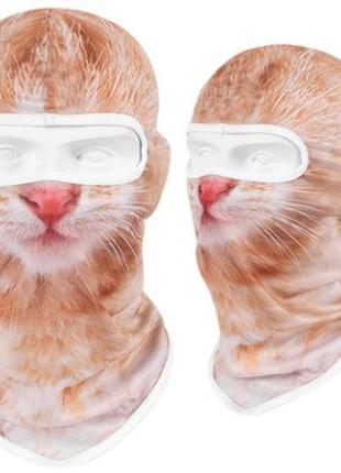 Підшоломник з котико, подшлемник, балаклава, с котом