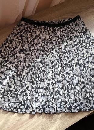 Плиссированная юбка h&m xs/s